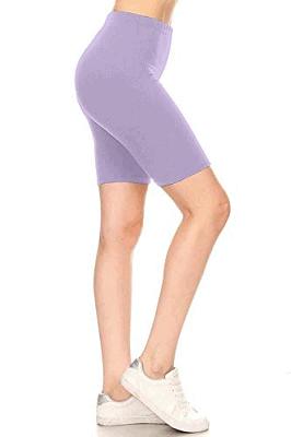 Leggings Depot Women's Fashion Biker Workout Shorts