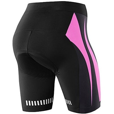 NOOYME Women's Bike Shorts for Cycling with 3D Padded