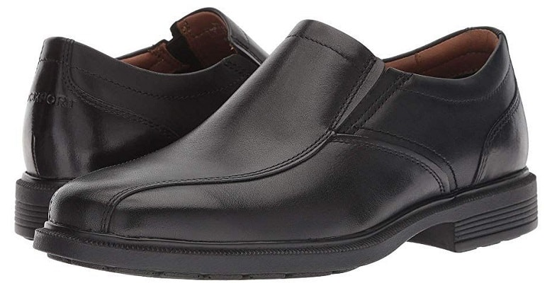 Rockport Men's Dressports Luxe Bike Toe Slip On Oxford Shoes