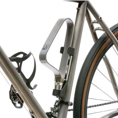 TiGr Mini+ Titanium Bike Lock & Mounting Clip